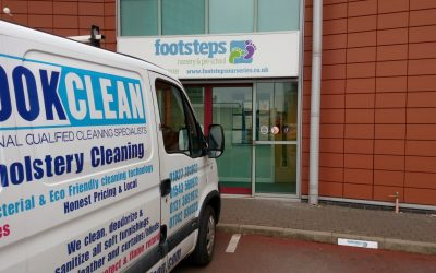 Nursery carpet and upholstery cleaning in Tamworth, Lichfield and Sutton Coldfield
