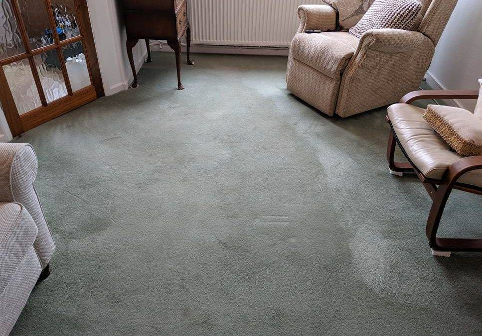 Carpet Cleaning in Lichfield removing tea and coffee stains