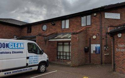Commercial Carpet Cleaning in Sutton Coldfield B74