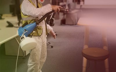 Office Disinfection Cleaning in Birmingham, Building Sanitising