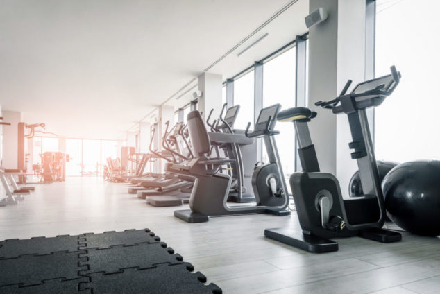 Gym Sports Hall Coronavirus COVID-19 Sanitising Disinfecting Tamworth Birmingham Midlands