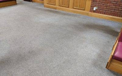 Commercial carpet cleaning in Sutton Coldfield